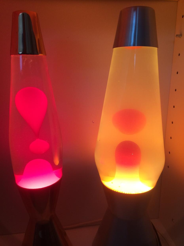 My Crestworth lamps Copper Astro Baby and Alu Astro 2