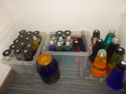 Spare bottle collection