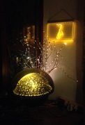 Saxophone Light & Crestworth Galaxy & Fibre Optic Tree