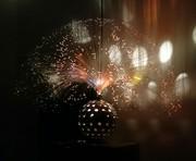 German Fiber optic lamp with peek-a-boo base