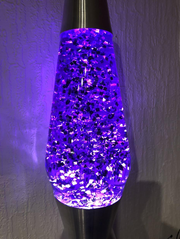 GOOLAMP GlitterKit Violett in Mathmos Astro