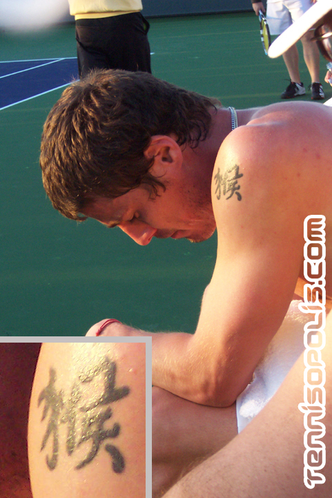 Safin's Chinese Tattoo