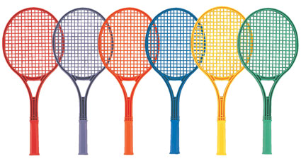 rainbow-racquets