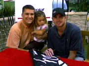 me madison and Andy Roddick