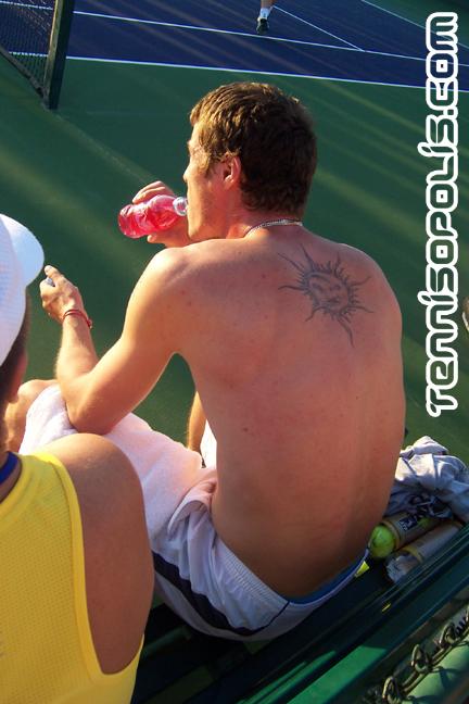 Safin's Back Tattoo