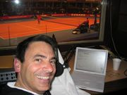 Joe Cip Live Voice Over from BBC Booth at Albert Hall