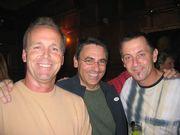 John Lloyd, Joe Cip and Mikael Pernfors
