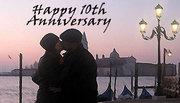 10th Anniversary in Venice, Italy