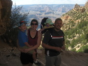 Grand Canyon hiking with family