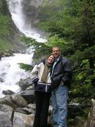 My wife and I in Alaska