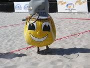Beach Tennis Mascot