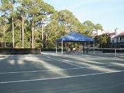 Tennis court heaven