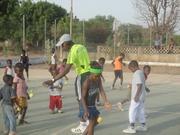 Teaching Tennis In Northern Ghana