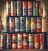 Vintage Tennis Ball Cans