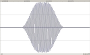 FLdigi CW WAVEform