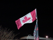 Team Canada came to Daytona to petition for a track and race in Canada.