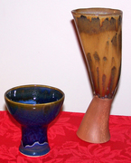 two different goblets