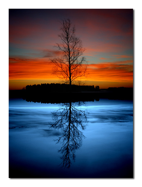 Colorful Evening Reflections