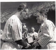 Gehrig & McCarthy. Lou Gehrig Day July 4th 1939. TYPE I