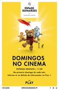 CRIANÇAS:  Domingos no Cinema