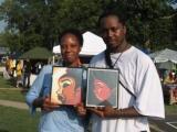 Hunny Bun and Afro Black