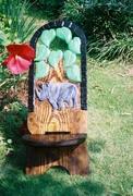 Senufo chair with Rhino