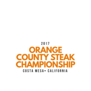 Orange County Steak Logo