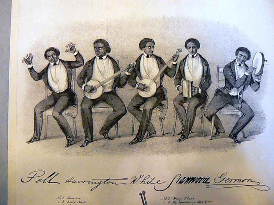 Ethiopian Serenaders group