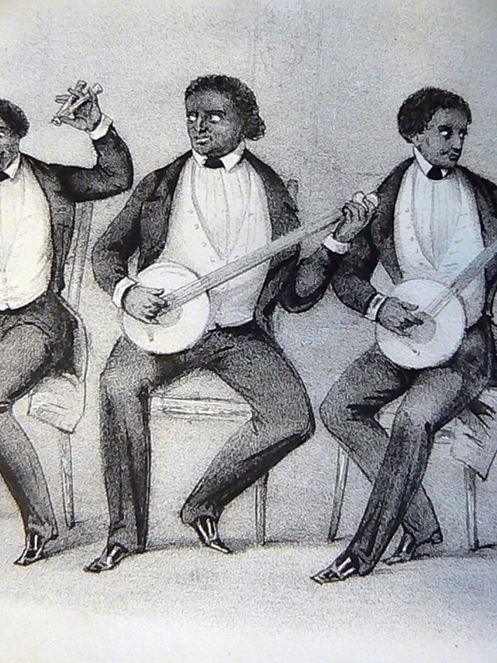 Ethiopian Serenaders banjo 1