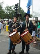 Me and Jason Bently to my right, at rhe K.C. Irish Fest, 08