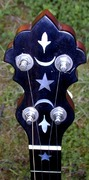 Vega flush fret headstock
