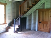 Interior of Charles Sweeney Cabin