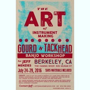 Berkeley California Gourd & Tackhead Banjo Making Workshop
