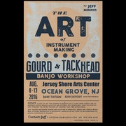 New Jersey Gourd and Tack Head Banjo Making Workshop