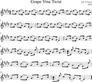 Grape Vine Twist