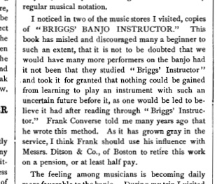 Briggs Converse S S Stewards Journal Dec 1891 Jan 1892