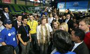 Campus Party, Visita de Reina de España