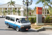 Rocky departing from Club RIU.
