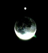 its a moon with Venus