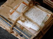 Carlisle's gift/ old med books, letters, and journals