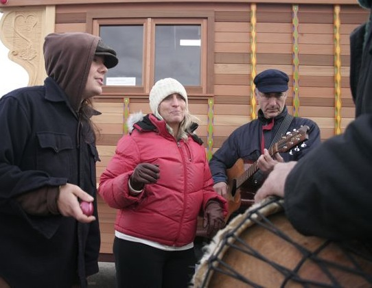 SingPeace! gathers in PortTownsend