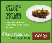 Eat like a man, not like a rabbit