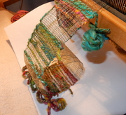 DANSE LE FIL   sculpture textile