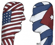 caricatura del cubano Aristides Esteban Hernandez Guerrero-ARES