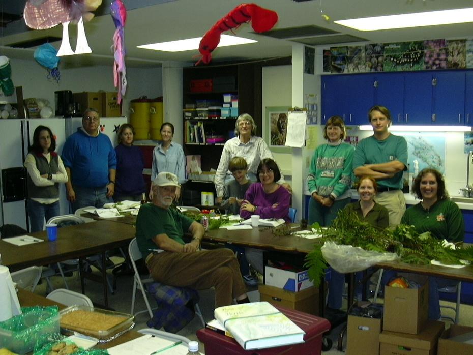 Native Plant Workshop Group #2.DEC.2002