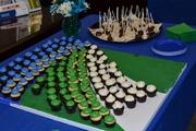 Lynn Smith Retirement Reception - dessert table