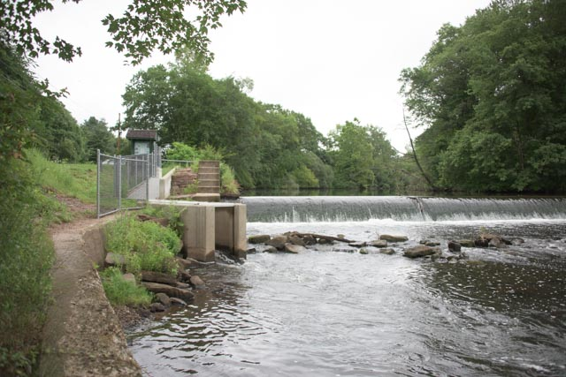 Wallace Dam fishway