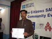 Active Citizen Social Action Project Award Cermony