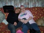 daughter karen and me.