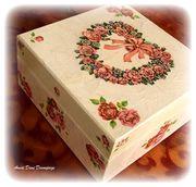 Κουτί-Pink Roses